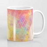 New York City Map Colore… Mug