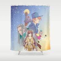 Legend Of The Ztarr Vol.… Shower Curtain