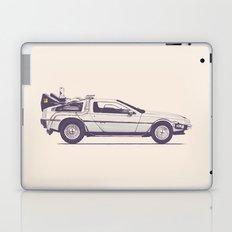 Famous Car #2 - Delorean Laptop & iPad Skin