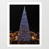 May Your Holidays Be Bri… Art Print