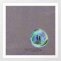 In A Bubble Art Print