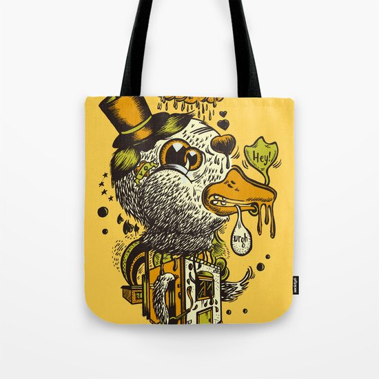 A Disorientated Duck Goes For A Stroll Tote Bag
