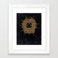 Dive Bomb. Framed Art Print
