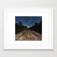 The Reptilian Road Framed Art Print