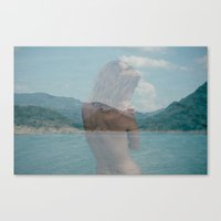 I'm nature Canvas Print