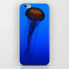 Glowing Jellyfish 2 iPhone & iPod Skin