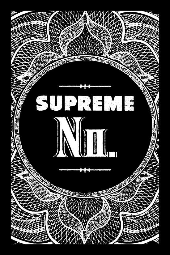 Supreme No Art Print