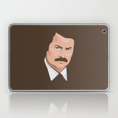 Ron Swanson Laptop & iPad Skin