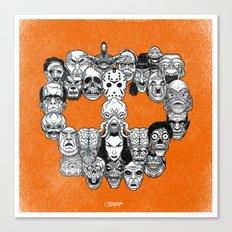 Monster Skull Canvas Print