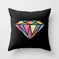 Diemond Throw Pillow