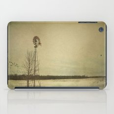 While the wind moans a dirge to a coyote's cry... iPad Case