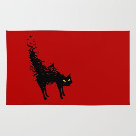 Freaking Meow Area & Throw Rug