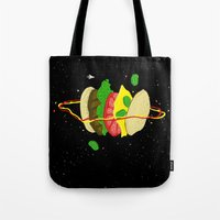 Planetary Discovery 8932: Cheeseburger Tote Bag