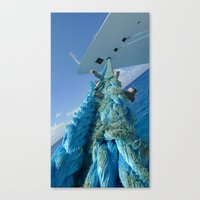 She Aint Going Anywhere Canvas Print