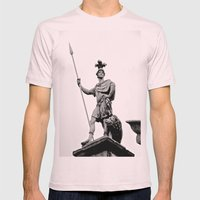 Guarding Dublin Castle Mens Fitted Tee Light Pink SMALL