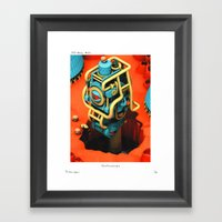 POP HELL # 10 Framed Art Print