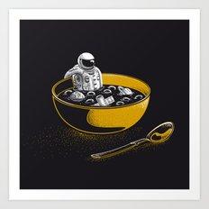 Space Flakes Art Print