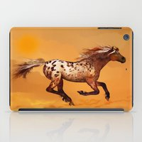 HORSE - An Appaloosa called Ginger iPad Case