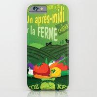 iPhone & iPod Case featuring Un après-midi à la ferme : été by Jesss