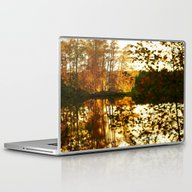 Reflection In October Laptop & iPad Skin
