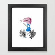 Grrr! Framed Art Print