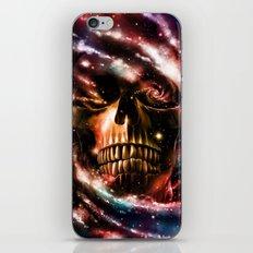 Space Skull II iPhone & iPod Skin
