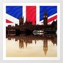 British politics Art Print