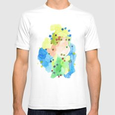 Jester #2 Mens Fitted Tee White SMALL