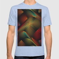 Bed of Snakes Mens Fitted Tee Athletic Blue SMALL