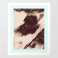 Abstract Rock Array Art Print