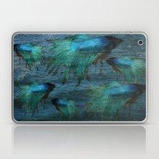 Blue Beta Test Laptop & iPad Skin