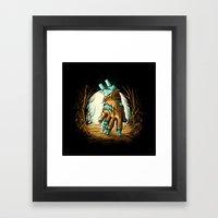 The Return! Framed Art Print