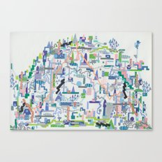 philip johnson's children, i Canvas Print