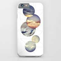 iPhone & iPod Case featuring Mobile Sky by theartistmakena