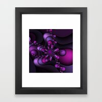Bubble Wave Framed Art Print