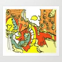 Prolonged Introspection Art Print