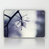 Spring Leaves In Black A… Laptop & iPad Skin
