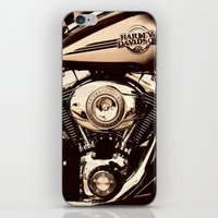 HD Brown tone iPhone & iPod Skin