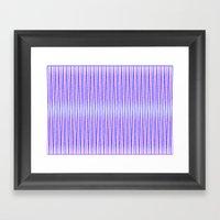 Eye Line 2 Framed Art Print