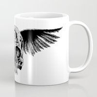 Winged Skull (Two Pieces… Mug