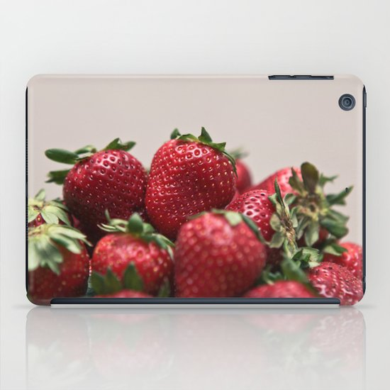 Stacked Strawberries  iPad Case