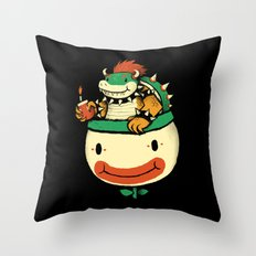 like a bowse Throw Pillow