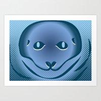 Lich-N-Seal Art Print