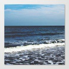 Kissing The Shoreline Canvas Print