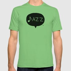 Jazz Mens Fitted Tee Grass SMALL