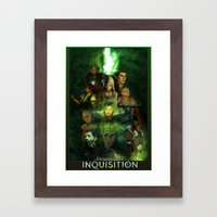 The Inquisition Framed Art Print