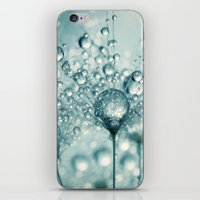 Droplets & Sparkles iPhone & iPod Skin
