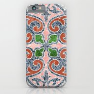 Blue Mandala 03 iPhone 6 Slim Case