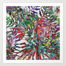 Jungle-tropics Art Print