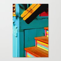 candy steps  Canvas Print